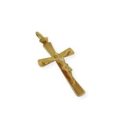 Cruz Con Cristo Primera Comunión de oro