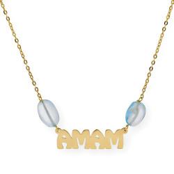 Charm Cristal de Murano Facetado Verde Azulado