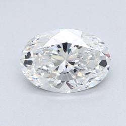 Diamante Certificado Talla Oval de 0,30 Quilates G VS2