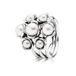 Anillo Pandora con perlas 190887P-54