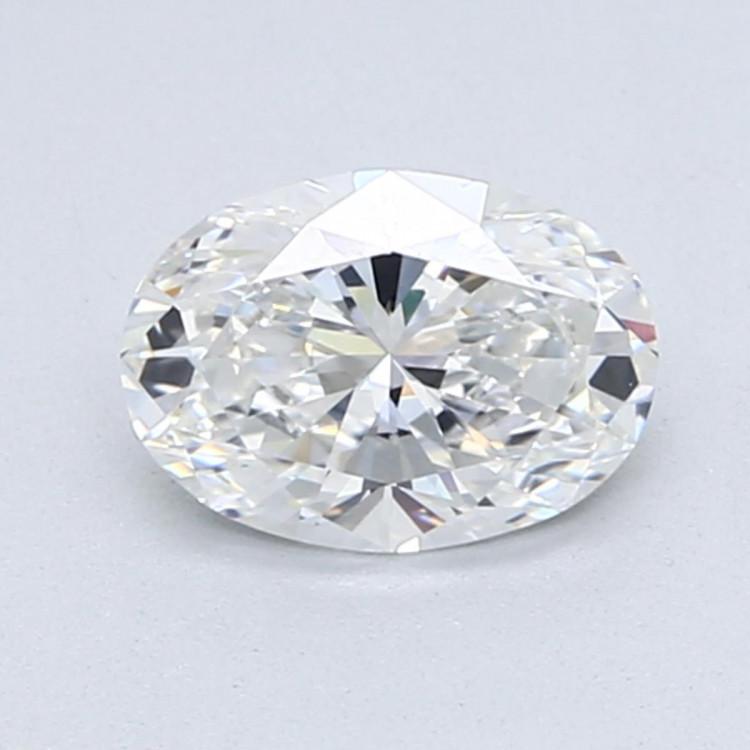 Diamante Certificado Talla Oval de 0,50 Quilates G VS2