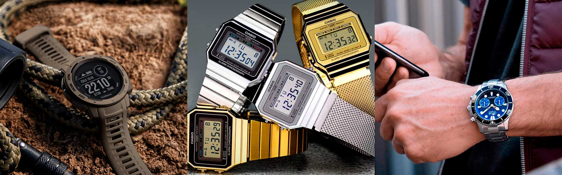 Reloj convencional vs. Smartwatch: ¿Cuáles son las diferencias?